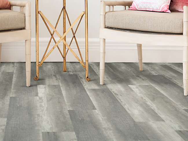 Ascot Vintage Dark Grey Oak Luxury Vinyl Flooring