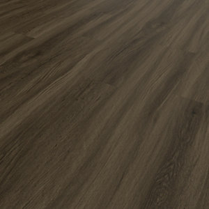 Novocore Ascot Walnut Luxury Vinyl Click Flooring - 2.56m2 pack