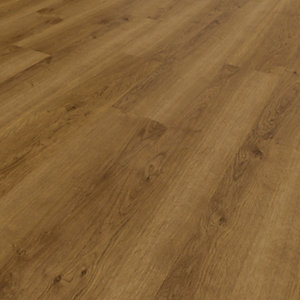 Novocore Ascot Warm Oak Luxury Vinyl Click Flooring - 2.56m2 pack