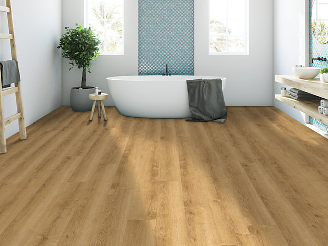 Ascot Warm Oak Luxury Vinyl Flooring