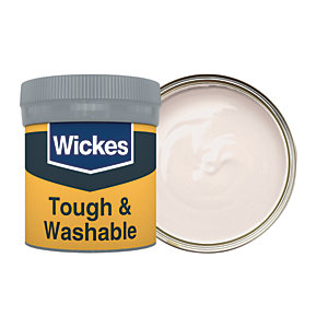 Wickes Blissful Silence - No. 165 Tough & Washable Matt Emulsion Paint Tester Pot - 50ml
