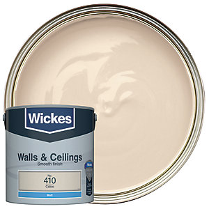 Wickes Calico - No. 410 Vinyl Matt Emulsion Paint - 2.5L