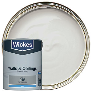 Wickes City Statement - No. 215 Vinyl Matt Emulsion Paint - 5L