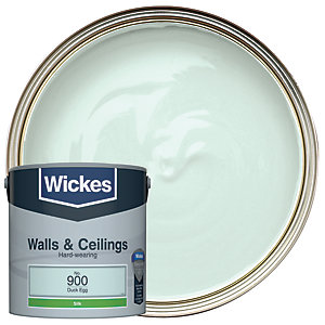 Wickes Duck Egg - No. 900 Vinyl Silk Emulsion Paint - 2.5L