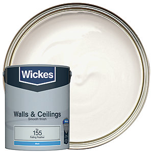 Wickes Falling Feather - No. 155 Vinyl Matt Emulsion Paint - 5L