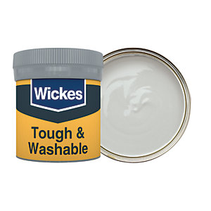 Wickes Nickel - No. 205 Tough & Washable Matt Emulsion Paint Tester Pot - 50ml