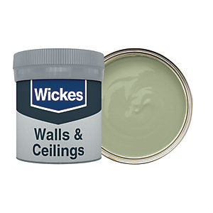 Wickes Olive Green - No. 830 Vinyl Matt Emulsion Paint Tester Pot - 50ml