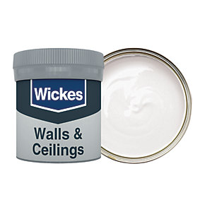 Wickes Powder Grey - No. 140 Vinyl Matt Emulsion Paint Tester Pot - 50ml