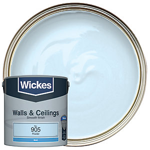 Wickes Powder - No. 905 Vinyl Matt Emulsion Paint - 2.5L