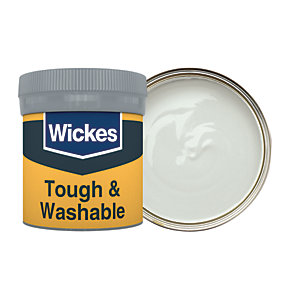 Wickes Putty No. 420 Tough & Washable Matt Emulsion Paint Tester Pot - 50ml
