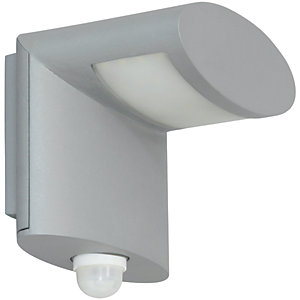 Ranex Preben Outdoor Aluminium LED Wall Light With PIR Motion Detector - 4.5W