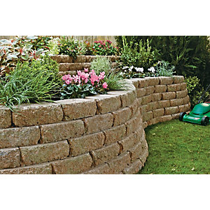 Marshalls Croft Textured Walling - Weathered 300 x 170 x 100mm Pack of 90