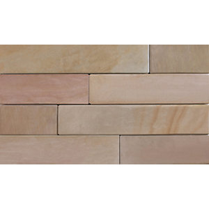 Marshalls Fairstone Sawn Versuro Smooth Walling Pack - Autumn Bronze 3m2
