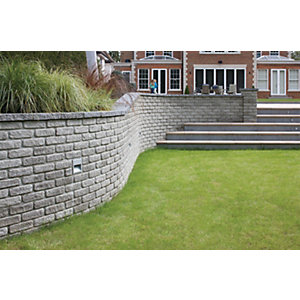 Marshalls Marshalite Walling - Ash 220 x 100 x 65mm Pack of 320