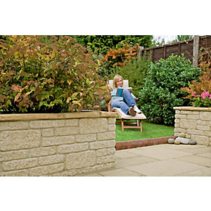 Marshalls Marshalite Walling - Buff 220 x 100 x 65mm Pack of 320