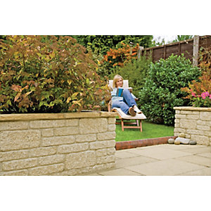 Marshalls Marshalite Walling -  Buff 300 x 100 x 65mm Pack of 297