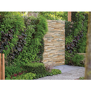 Marshalls Stoneface Drystack Quartzite Walling Pack - Harvest Mix 2.89m2