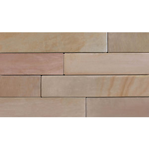 Marshalls Stoneface Sawn Veneer Smooth Walling Pack - Autumn Bronze 3m2