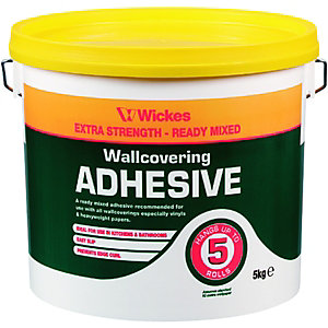 Wickes Ready Mixed Wallpaper Paste - 5kg