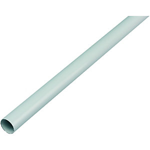 Wickes Interior Multi Rail Tube - 19mm x 1.82m White
