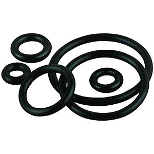 Wickes Assorted O Rings 1.6mm Selection Pack