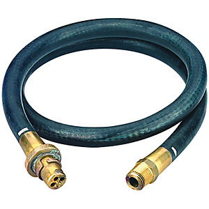 Wickes Bayonet Hose for Cookers 12mm x 1.21m