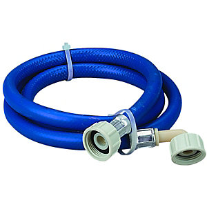 Wickes Blue Washing Machine Hose - 2.5m