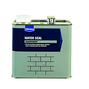 Wickes Water Seal for Vertical Exterior Surfaces - 2.5L