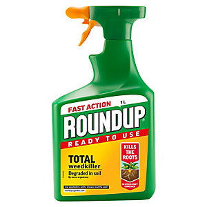 Fast Action Roundup Weed Killer - 1L