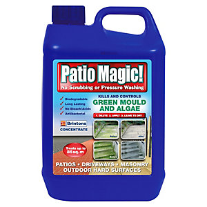 Patio Magic Mould and Algae Treatment - 2.5L