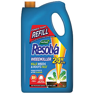 Resolva Weed Killer 24H Ready to Use  - 5L Refill