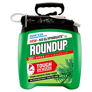 Roundup Speed Ultra Weedkiller Pump 'N Go - 5L