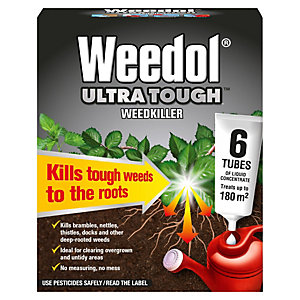 Ultra Tough Weedkiller Tubes 6x25ml