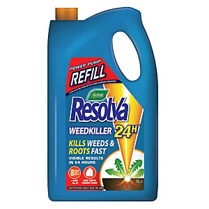 Westland Resolva 24H Weedkiller Ready to Use Power Pump Refill - 5L