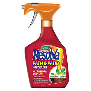 Westland Resolva Path & Patio Weedkiller Ready to Use Spray - 1L