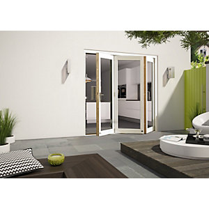 aluminium bifold patio doors bifold patio doors wickes co uk