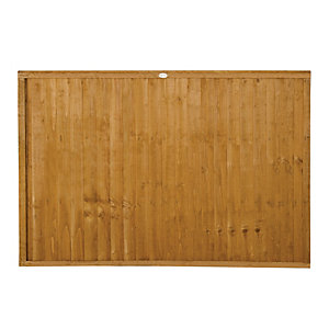 Wickes Closeboard Panel - 6 x 4ft Multi Packs