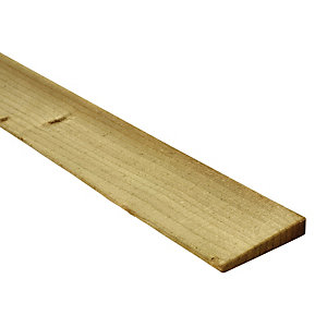 Wickes Feather Edge Fence Board - 100mm x 2.4m