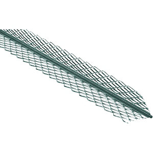 Wickes Galvanised Steel Anglebead 2.4m