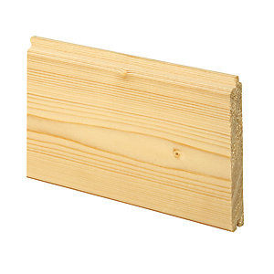 Wickes General Purpose Softwood Cladding 14x94x1800mm