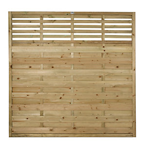 Wickes Kyoto Fence Panel - 6 x 6ft Multi Packs