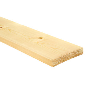 Wickes Redwood PSE Timber - 20.5mm x 119mm x 2.4m