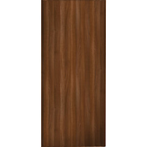 Wickes Sliding Wardrobe Door Walnut Frame & Panel