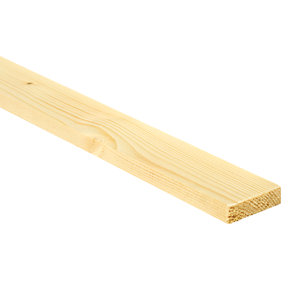 Wickes Whitewood PSE Timber - 12mm x 44mm x 2.4m