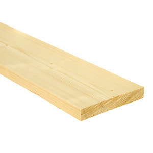 Wickes Whitewood PSE Timber - 18mm x 119mm x 2.4m