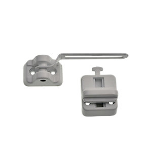 Wickes PVCu Window Ventilation Lock - White
