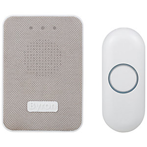 Byron DBY-22322UK 150m Wireless Doorbell with Plug In Chime
