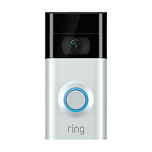 Ring Video Doorbell 2 1080p HD video in Satin Nickel/Venetian Bronze