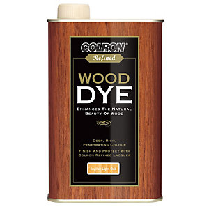 Ronseal Colron Refined Wood Dye - English Light Oak 250ml