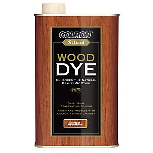 Ronseal Colron Refined Wood Dye - Georgian Medium Oak 250ml